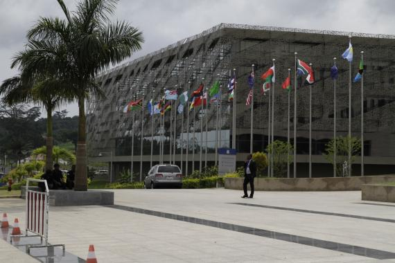 Second wing of the Sipopo Conference Centre, Malabo, Equatorial Guinea