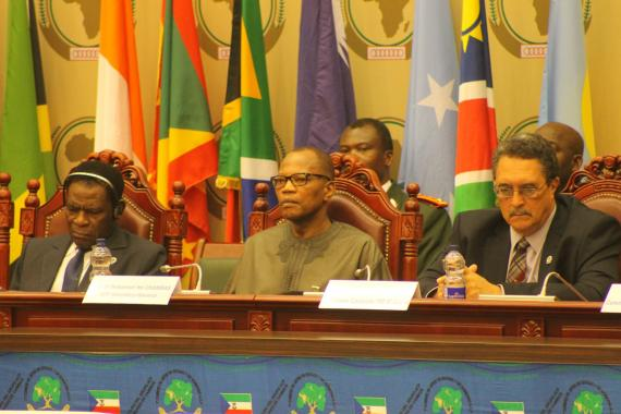 Opening ceremony of the 7th Summit of ACP Heads of State and Government