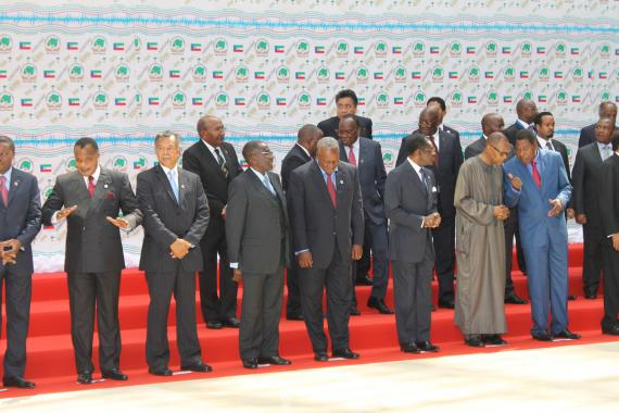 Some of the ACP Heads of State and Government in Malabo