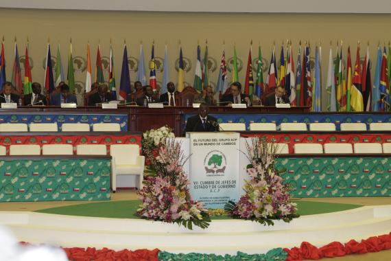 Opening ceremony of the 7th Summit of ACP Heads of State and Government in Malabo, Equatorial Guinea
