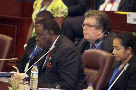 Prime Minister of Namibia, Rt Hon. Dr Hage Geingob and his delegation