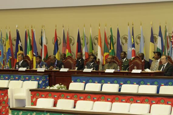 Opening ceremony of the ACP leaders' summit in Malabo