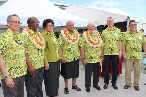 ACP-EU Joint Parliamentary Assembly traditional opening ceremony in Suva, Fiji.