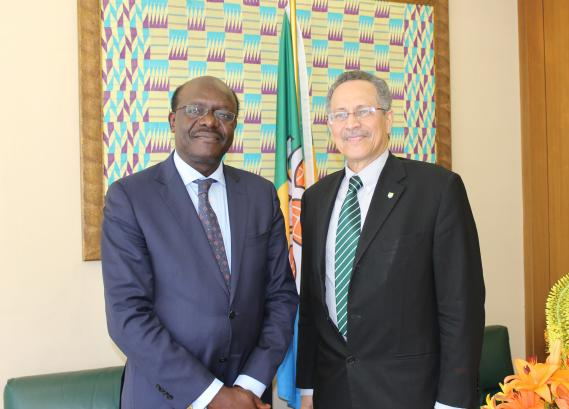 UNCTAD Secretary General Mukhisa Kituyi launched the 2015 World Investment Report at the ACP Trade Ministerial Committee meeting
