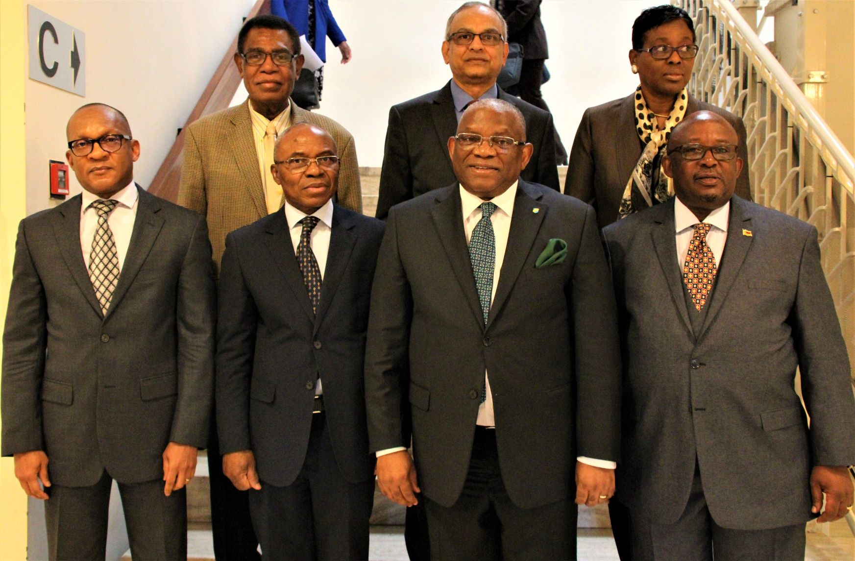 ACP Ambassadors at the first meeting of the ACP-EU Joint Negotiating Session with SG Chikoti