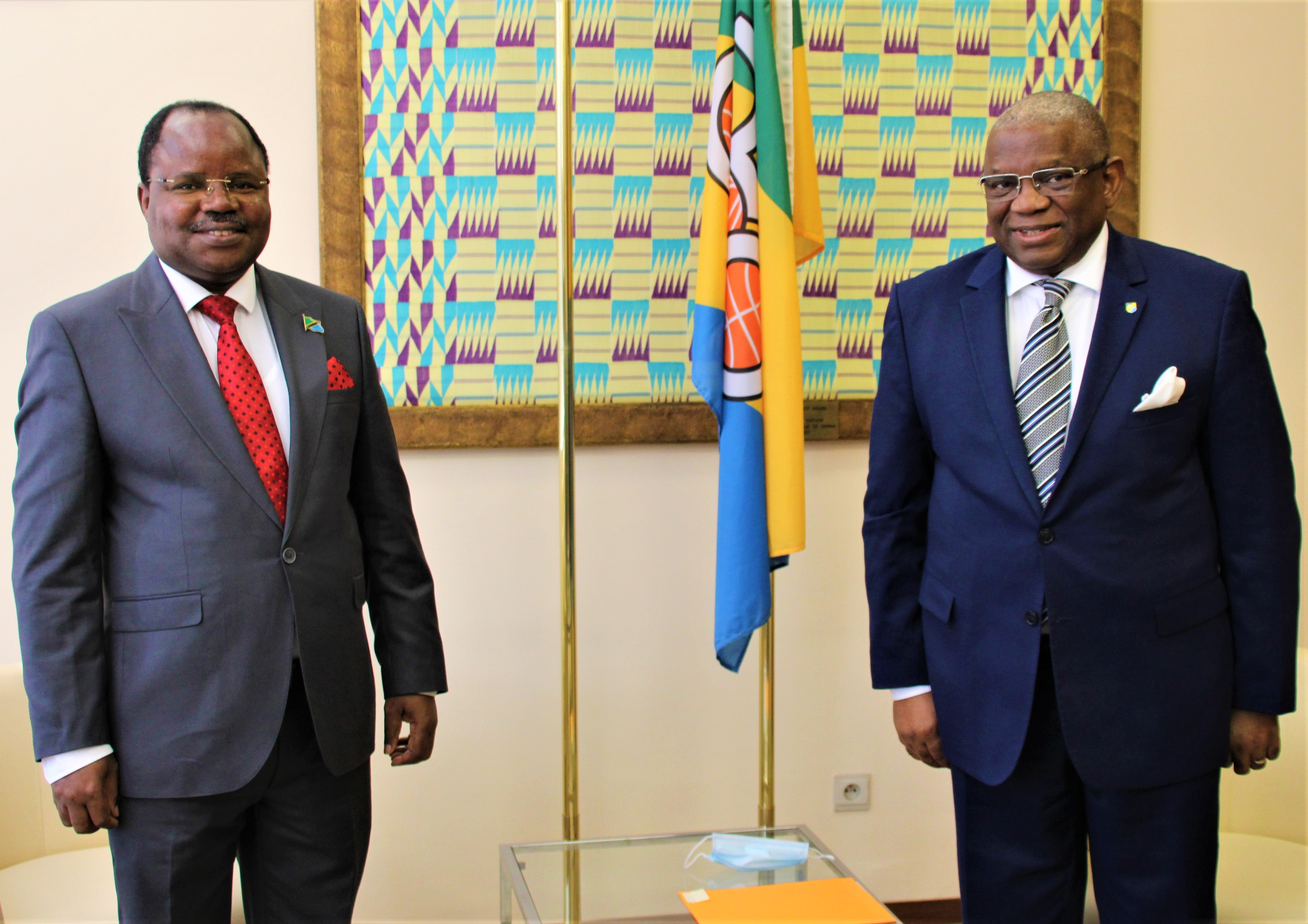 Meeting with H.E. Mr Jestas Abuok NYAMANGA Ambassador of the United Republic of Tanzania, Incoming Chair of the Committee of Amb