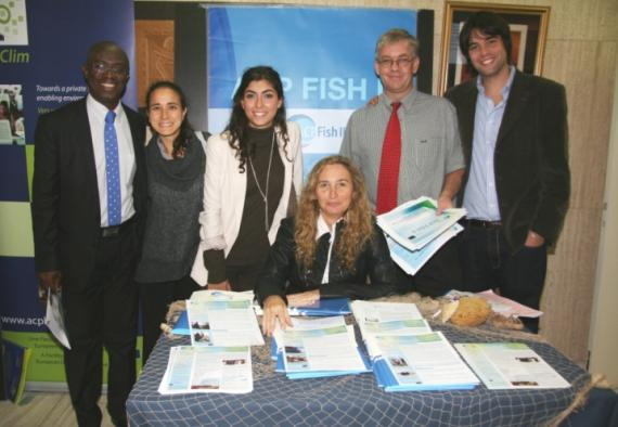 The team from ACP Fish II Programme