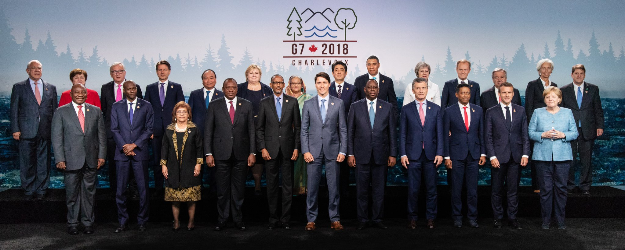 Eight ACP heads of government attended the G7 Summit in